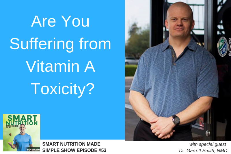 Dr. Garrett Smith, Vitamin A toxicity, Ben Brown BSL Nutrition Podcast